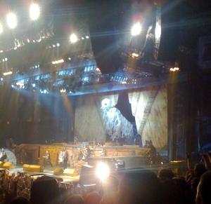 Eddie during on his 3 visits onstage!