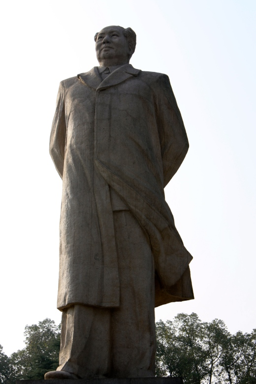 Mao statue in Shaoshan.