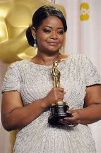 Octavia Spencer - The Help - 2012 best Supporting Actress